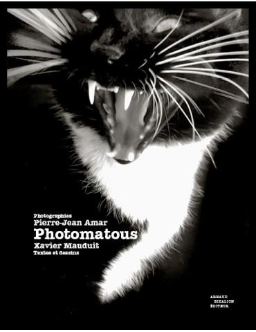 Photomatous, photographies Pierre-Jean Amar, textes et dessins Xavier Mauduit
